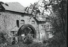 Obermühle Wasserrad
