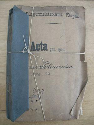Archiv - Akte
