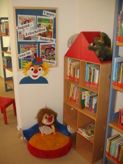 Kinderecke in der Stadtbücherei