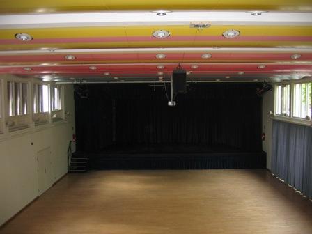 Jahnhalle Saal