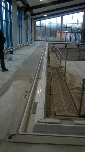 Sanierung Erftlagune - Fliesenarbeiten