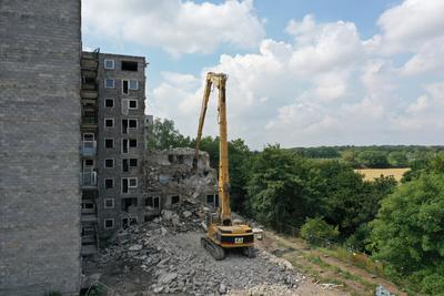 Abriss Hochhaus Maastrichter Str 2019-08-02-01