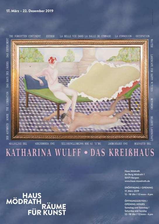 Plakat Ausstellung Haus Mödrath: Das Kreißhaus