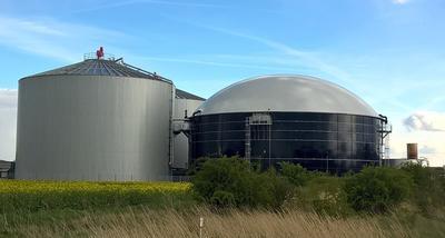 Biogasanlage (Foto: Pixabay)