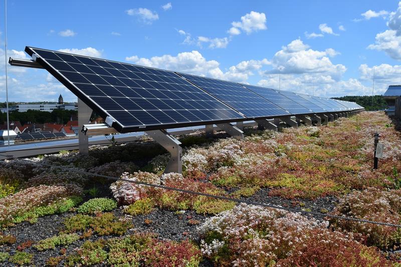 Solargründach (Foto: Bundesverband GebäudeGrün e.V.)