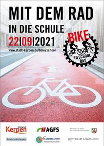 bike2school Day - Plakat