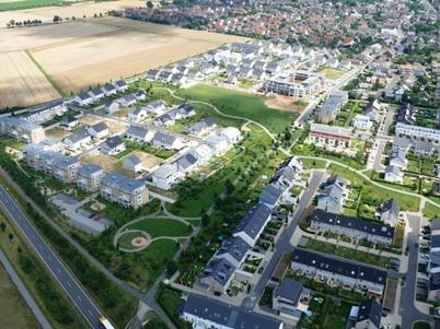 Luftaufnahme Vogelrutherfeld