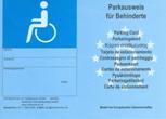 Schwerbehindertenparkausweis