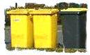 gelbe Tonnen