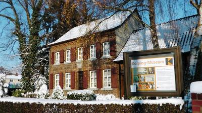 Kolpingmuseum im Winter